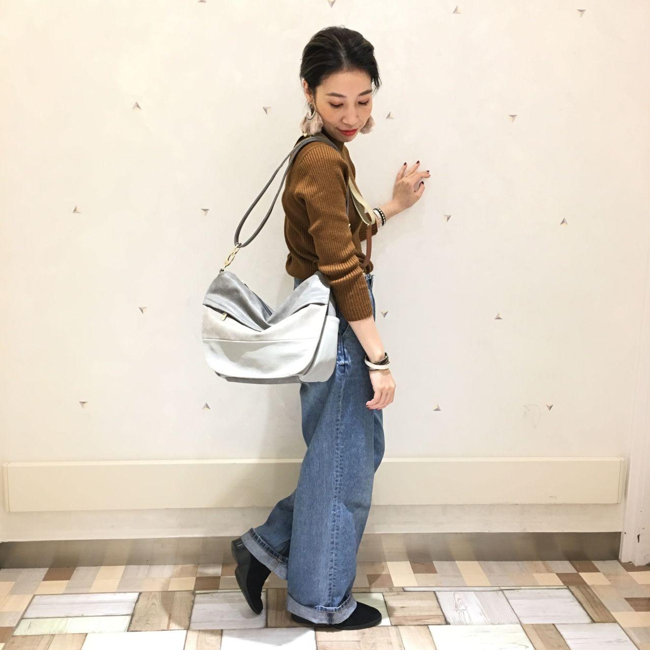 配色がポイント★おしゃれなショルダーバ...