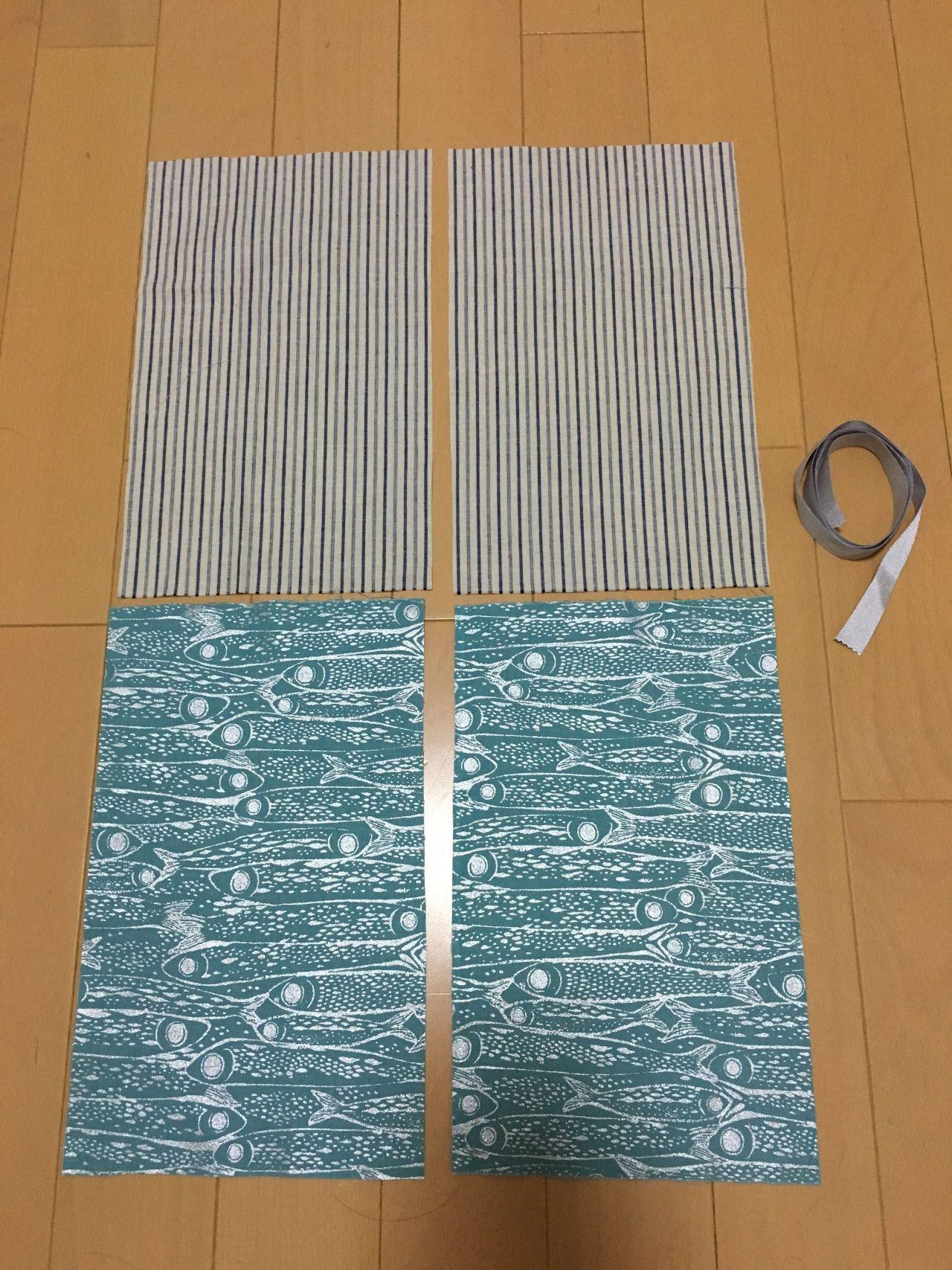 巾着 袋 作り方 簡単